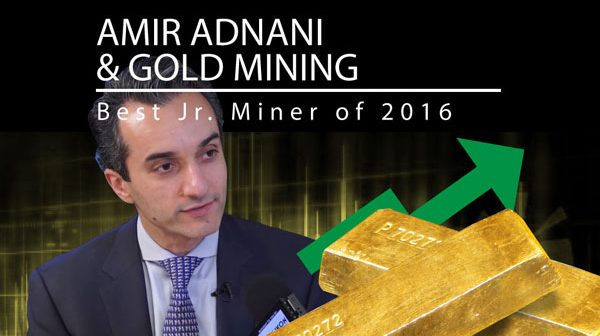 Gold - Interview with Amir Adnani