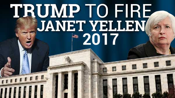 Trump to Fire Janet Yellen; Rates to Rise – Mike Swanson Interview