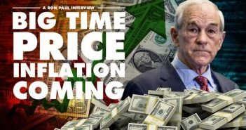 Big Time Price Inflation Coming - Ron Paul Interview