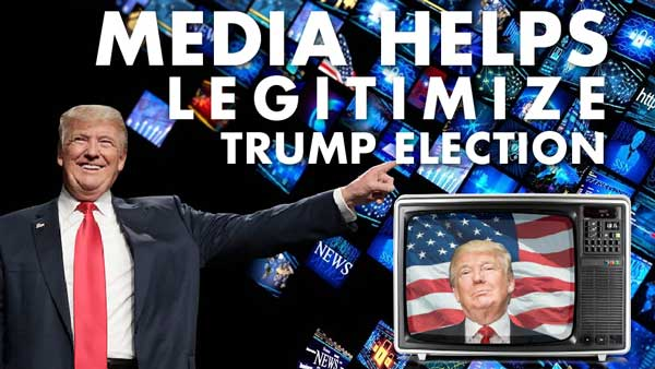 Media Helps Legitimize Trump Election – Rob Kirby