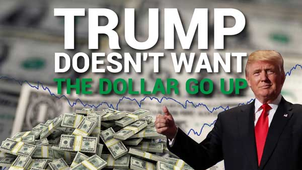 Trump Doesn't Want The Dollar to Go Up – Mike Swanson