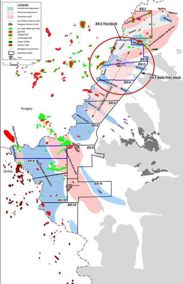 Oil & Gas Fields - East West Petroleum