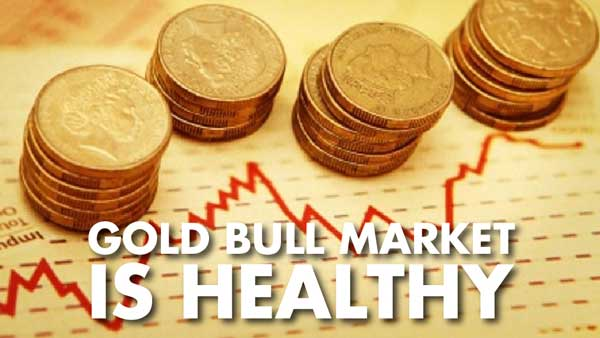Gold Bull Market is Healthy – Brien Lundin
