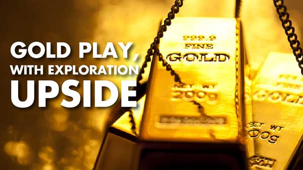 Gold Play, with Exploration Upside – Luke Norman