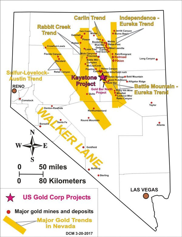 Keystone Project - US Gold Corp
