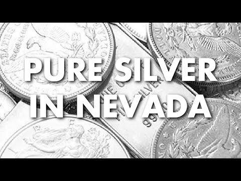 Pure Silver in Nevada