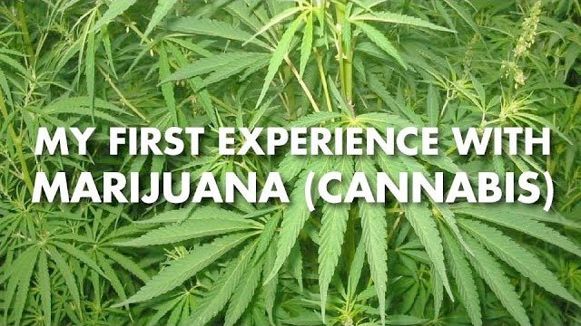 My First Experience with Marijuana (cannabis)