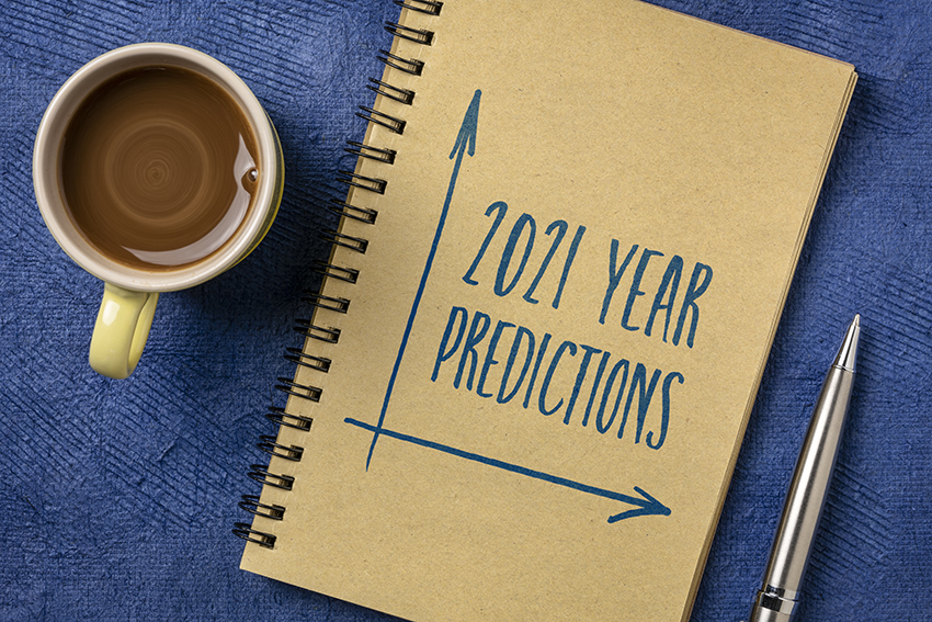 December 30 Predicitons for 2021