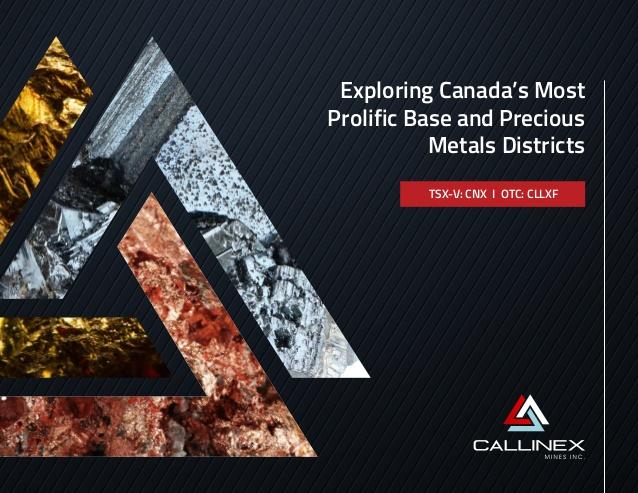 Callinex Mines News
